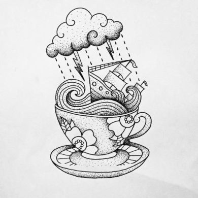 storm in a teacup art